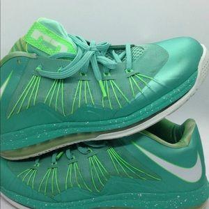 Nike Air Max Lebron X 10 Low Crystal Mint Green